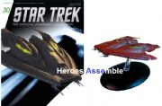 Star Trek Official Starships Collection #030 Nausicaan Fighter Eaglemoss